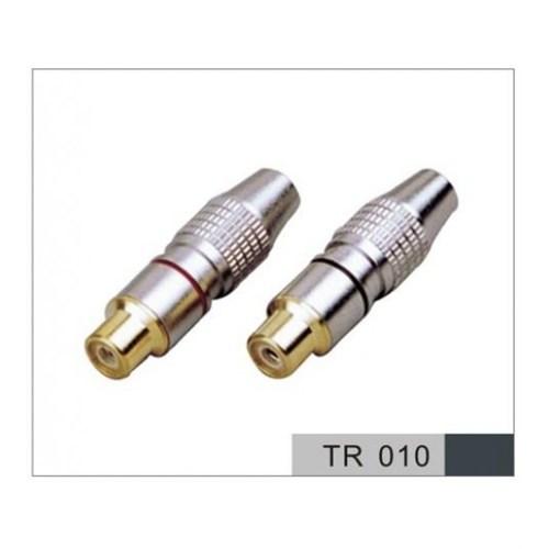 D-Connect 37008 Dc-2Rcaf Rca Konnektör/Jak