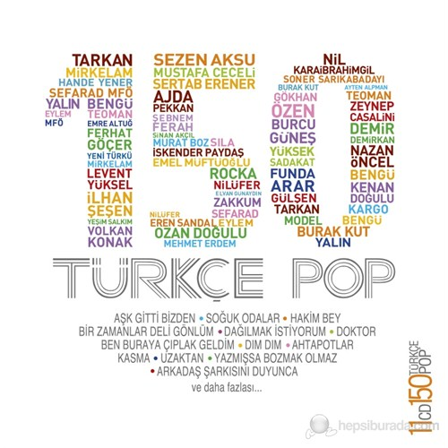 Türkçe Pop 150 (11 CD)