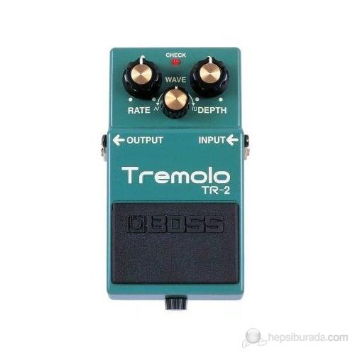 Boss Tr2 Tremolo Elektro Gitar Analog Pedal