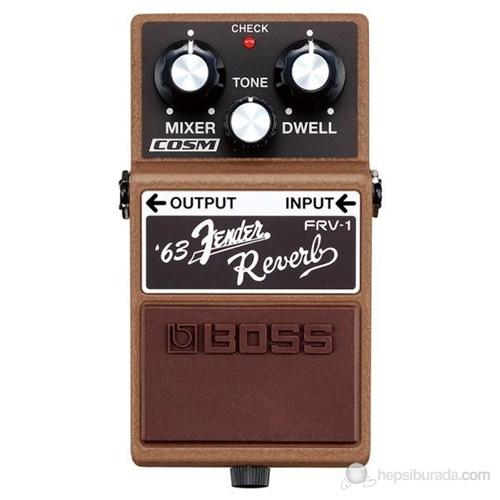 Boss Frv1 Fender Reverb Pedalı