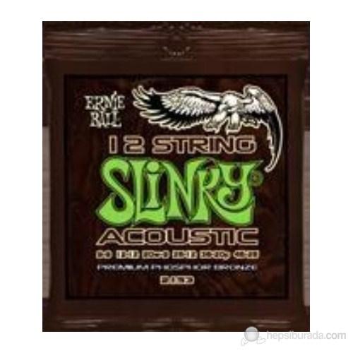 Ernie Ball 2153 009046 12 Telli Akustik Gitar Tel Seti
