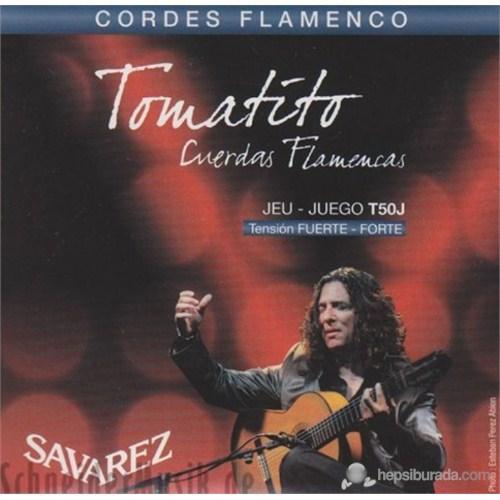 Savarez Tomatito Flamenco Gitar Teli - Yüksek Tansiyon