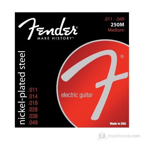 Fender 250M Nps Ball End 1149 Elektro Gitar Teli