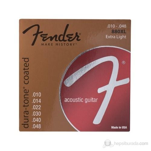 Fender Dura-Tone Coated, 80/20 Acoustic Guitar Str