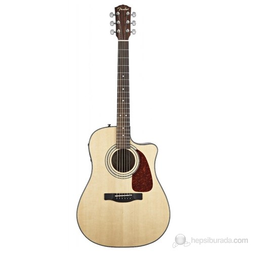 Fender Cd-140Sce Natural Cutaway Solid Spruce Top