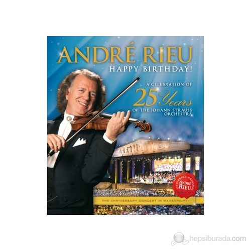 André Rieu - Happy Birthday (BLU-RAY)