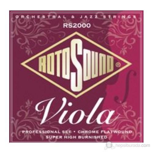 Rotosound RS2000 Profesyonel Viola Tel Seti