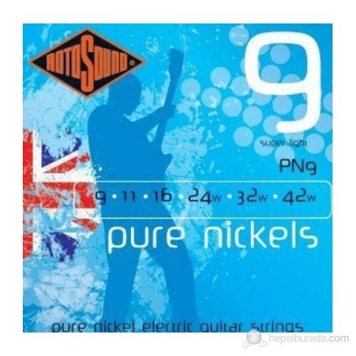 Rotosound PN9 Pure Nikel Elektro Gitar Teli