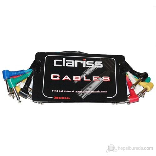 Clariss Pc-360 Pedal Ara Kablo 0.3 Metre 6'Lı