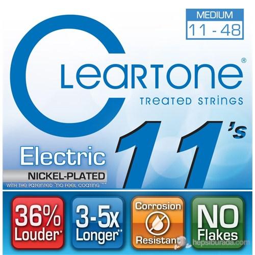 Cleartone Electric Medium (11-48) Elektro Gitar Teli