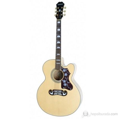 Epiphone EJ-200CE Natural Elektro Akustik Gitar