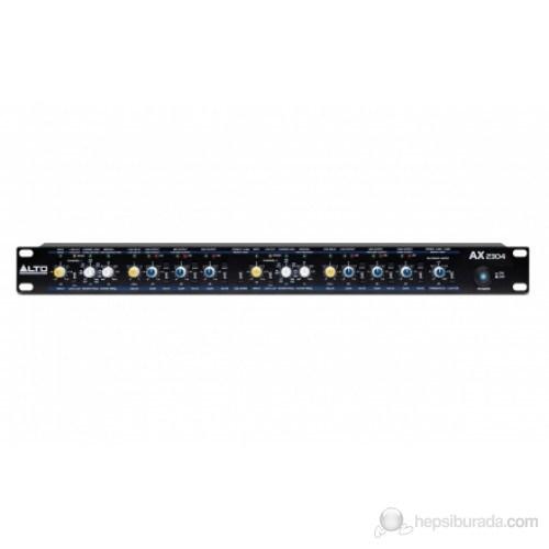 Alto AX2304 - Profesyonel Yüksek Hassasiyet Stereo/Mono Crossover