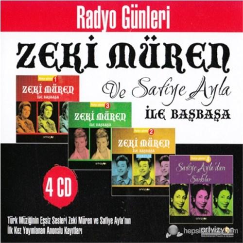 Radyo Günleri - Zeki Müren ve Safiye Ayla İle Başbaşa (4 CD)