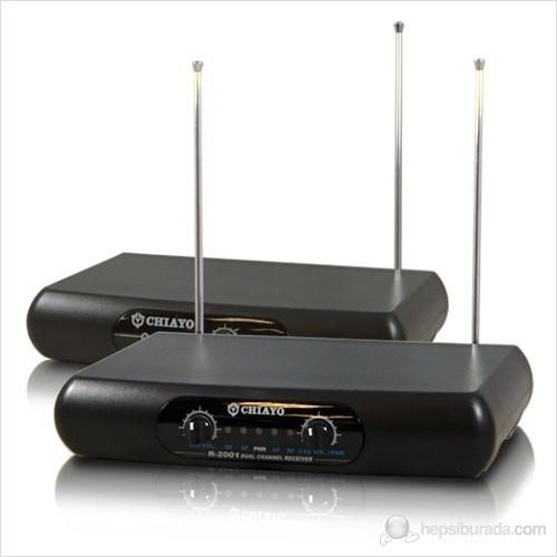 Chiayo R2001&Q1002&M1002 - El+Yaka Telsiz Mikrofon
