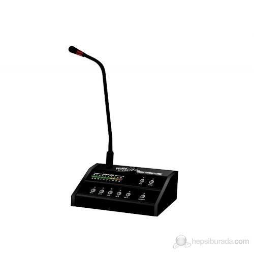 Prima T-318 - 5 Bölge Mikrofon Konsolu