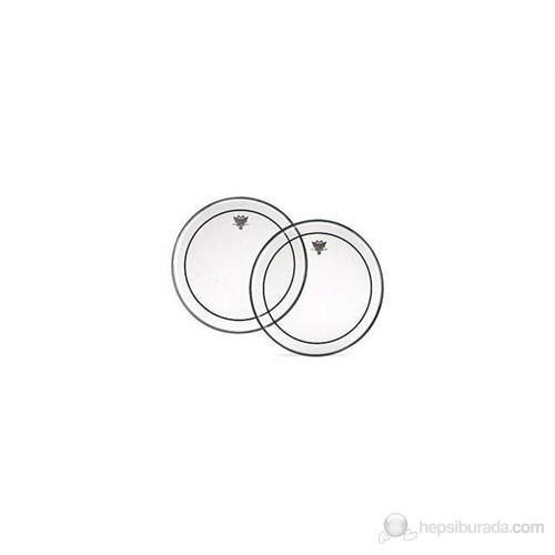 Remo 14'' Pinstripe Clear