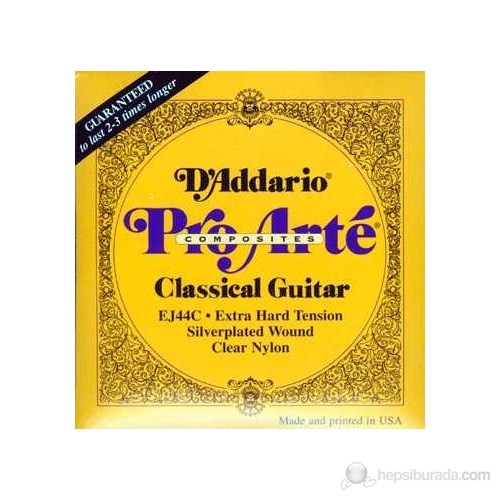 Daddario Ej44C - Klasik Gitar Teli
