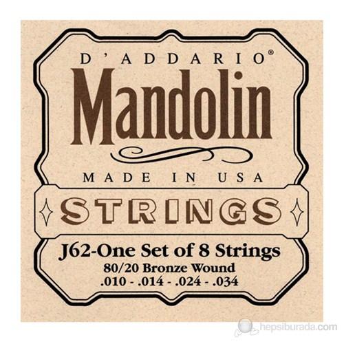 Daddario J62 - Mandolin Teli