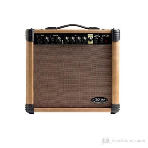 Stagg 20 Aa R Akustik Gitar Amplifikatör