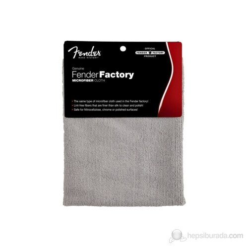 Fender Factory Microfiber Cloth Care And Cleaning