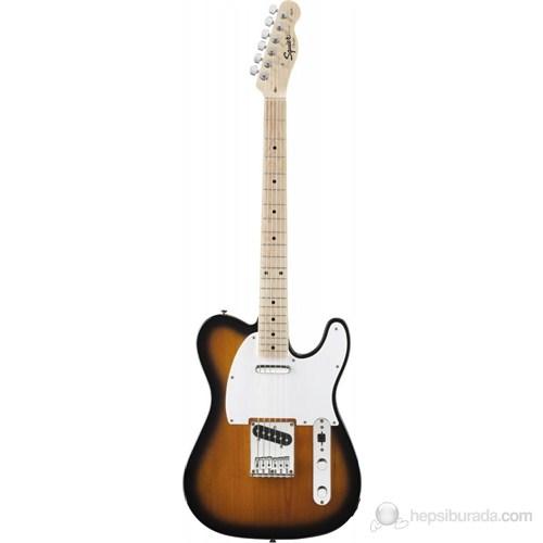 Squier Affinity Tele MN 2-TSB Elektro Gitar