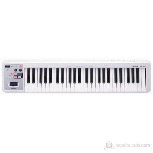 Roland A-49 Wh (Beyaz) Midi Keyboard Controller