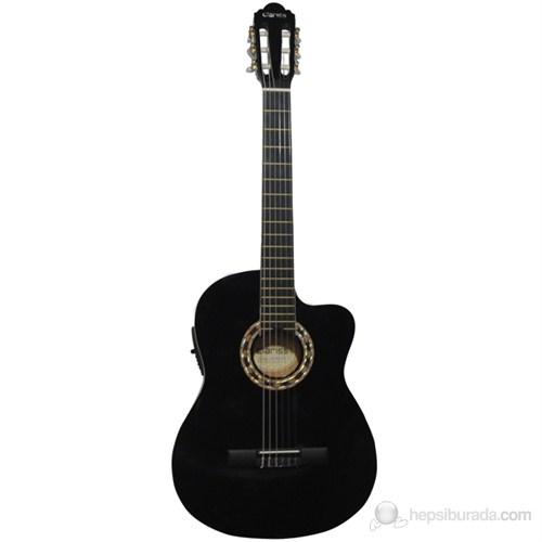 Clariss Ccg-200Tce/Bk Elektro Klasik Gitar