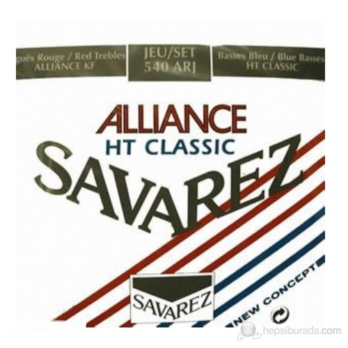 Savarez Alliance/HT Classic Rouge/Bleu Klasik Gitar Teli - Normal/Yüksek Tan.