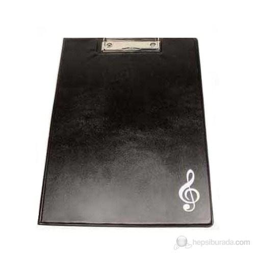 Musikboutique 2502BUKB Sol Anahtarlı Klipsli A4 Kağıt Tutacağı