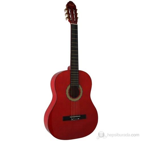 Vivaldi Sgc851-Rd 4/4 Klasik Gitar (Kırmızı)