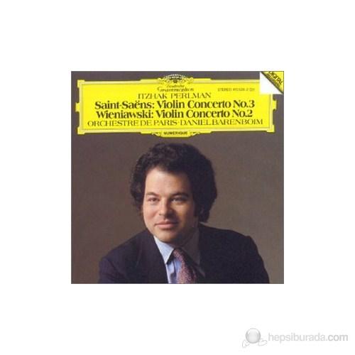 Itzhak Perlman - Saint-Saens: Violin Concerto No:3, Wieniawski: Violin Concerto N0:2