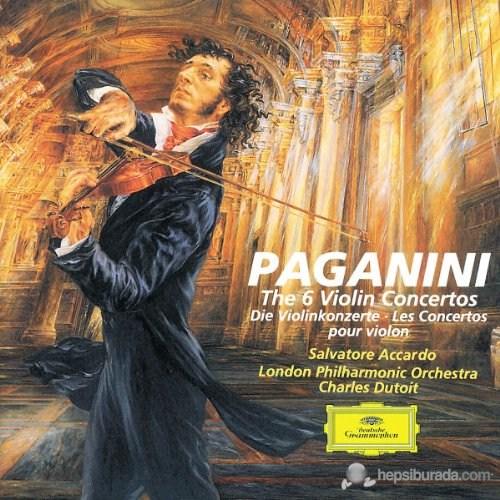 Salvatore Accardo - Paganini: The 6 Violin Concertos