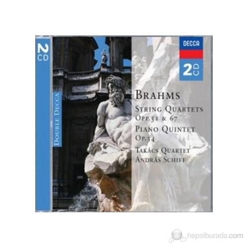 Takacs Quartet And Andras Schiff - Brahms: String Quartets Piano Quintet