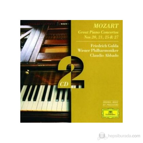 Friedrich Gulda - Mozart: Piano Concertos 20,21,25 And 27