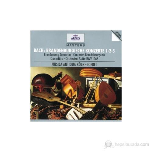 Reinhard Goebel - Bach:Brandenburg Concertos Nos: 1,2 And 3