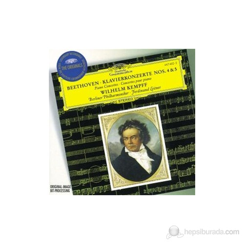 Wilhelm Kempff - Beethoven: Piano Concertos Nos:4 And 5