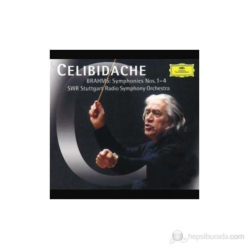 Sergiu Celibidache - Brahms: Symphonies Nos:1-4 (3 Cd)