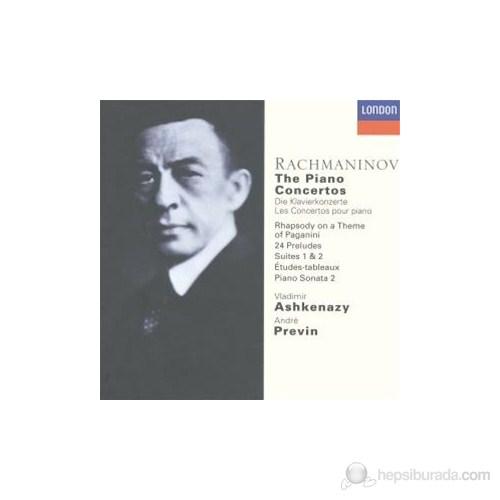 Vladimir Ashkenazy - Rachmaninov: The Piano Concertos (6 Cd)