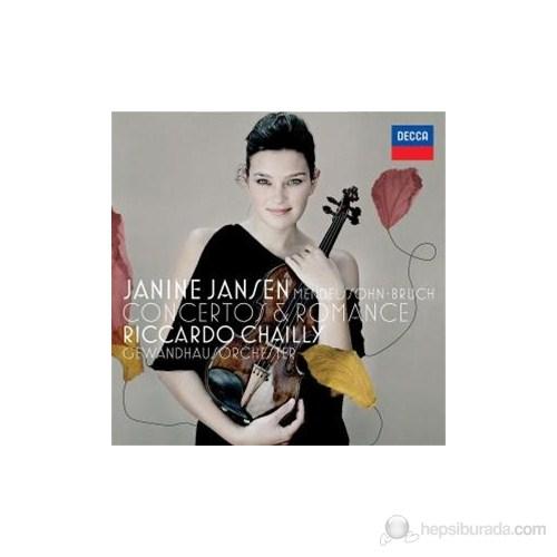 Janine Jansen - Mendelssohn/Bruch: Violin Concertos