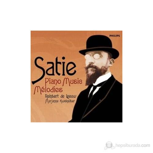 Reinbert De Leeuw - Satie: Piano Music Melodies
