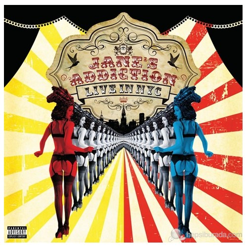 Jane's Addiction - Live In Nyc (Cd + Dvd)