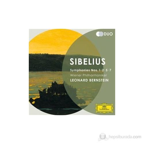 Leonard Bernstein - Sibelius: Symphonies Nos:1,2,5,7