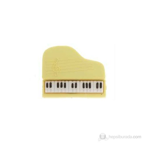 Aim Gifts PP1 Kuyruklu Piyano Plastik Yaka İğnesi