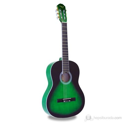 Manuel Raymond MRC375GRS Klasik Gitar (Koyu Yeşil)