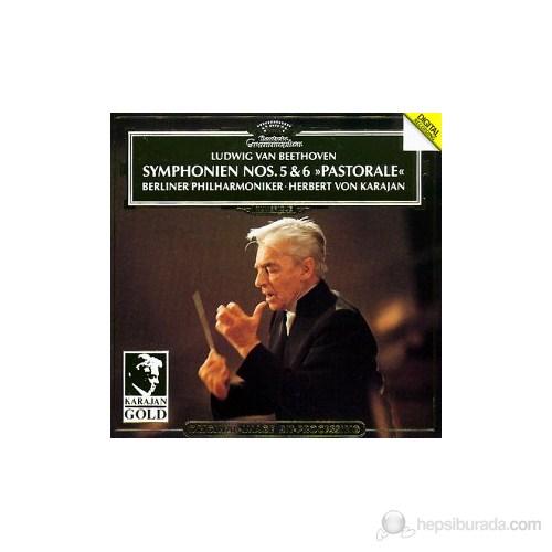 Herbert Von Karajan - Beethoven: Symphonıes Nos:5-6