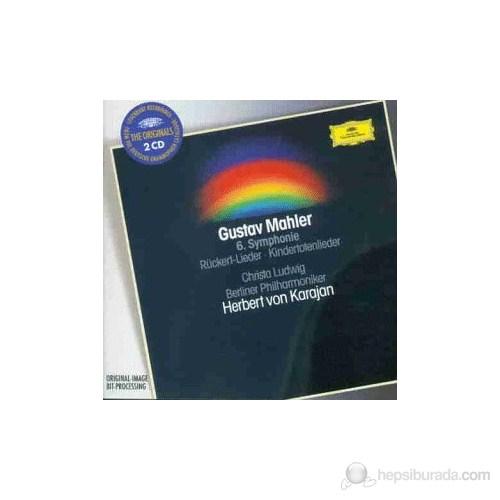 Herbert Von Karajan - Mahler: Symphony No. 6 + Kındertotenlıeder