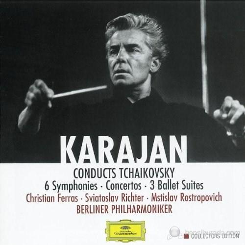 Herbert Von Karajan - Tchaıkovsky: 6 Symphonıes, Concertos, 3 Ballet Suıtes