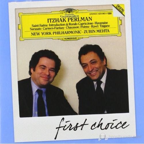 Itzhak Perlman - Saınt-Saens: Introductıon, Rondo Sarasate: Carmen Fantasy