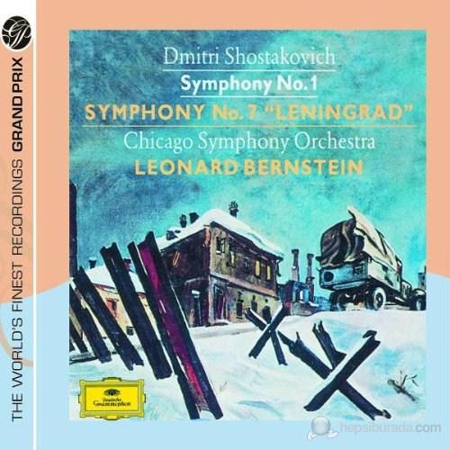 Leonard Bernsteın - Shostakovıch: Symphonıes Nos:1 And 7