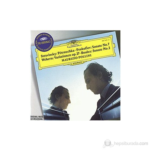 Maurizio Pollini - Stravinsky: Pétrouchka,Prokofiev: Sonate No.,Webern: Variationen,Boulez: Sonata No. 2